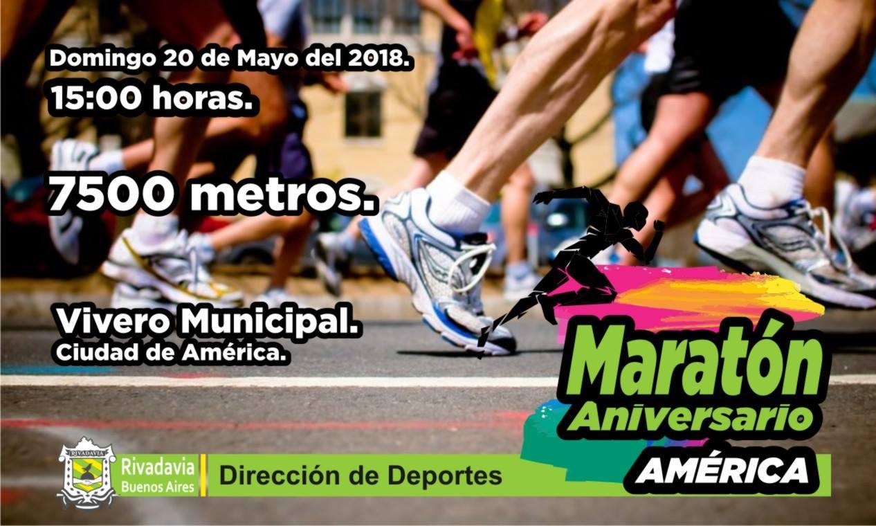 """MARATÓN """"ANIVERSARIO DE AMÉRICA"""""""