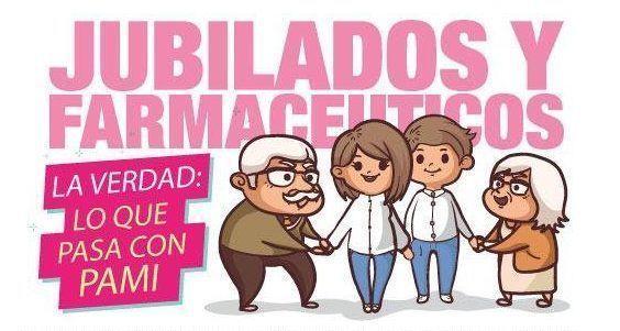 FARMACÉUTICOS DE LA PROVINCIA RECLAMAN A PAMI UNA DEUDA DE $1200 MILLONES ACUMULADOS DESDE ABRIL