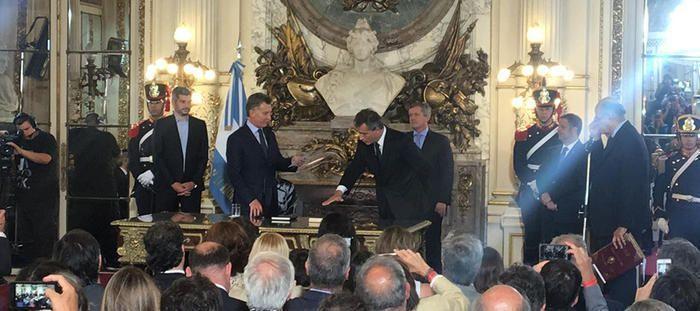 VIDEO: ETCHEVEHERE JURÓ COMO NUEVO MINISTRO DE AGROINDUSTRIA DE LA NACIÓN