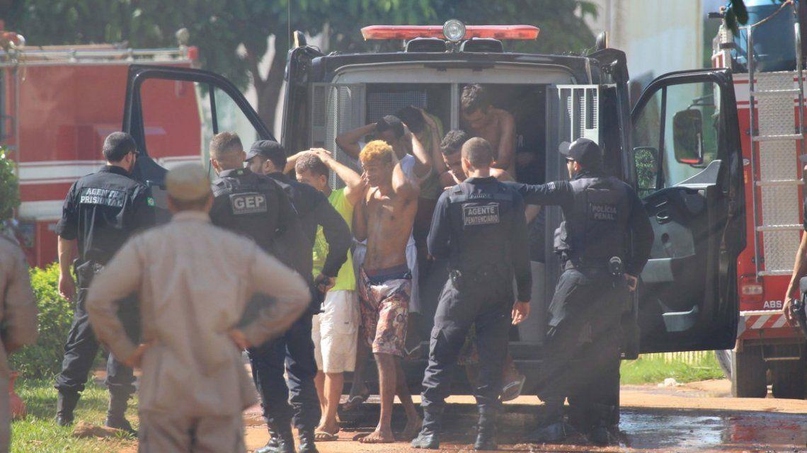 ESCALOFRIANTE MOTÍN EN UNA CÁRCEL DE BRASIL: AL MENOS 9 MUERTOS