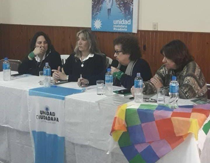 UNIDAD CIUDADANA RIVADAVIA DESARROLLÓ EL PRIMER ENCUENTRO DE REFERENTES CULTURALES