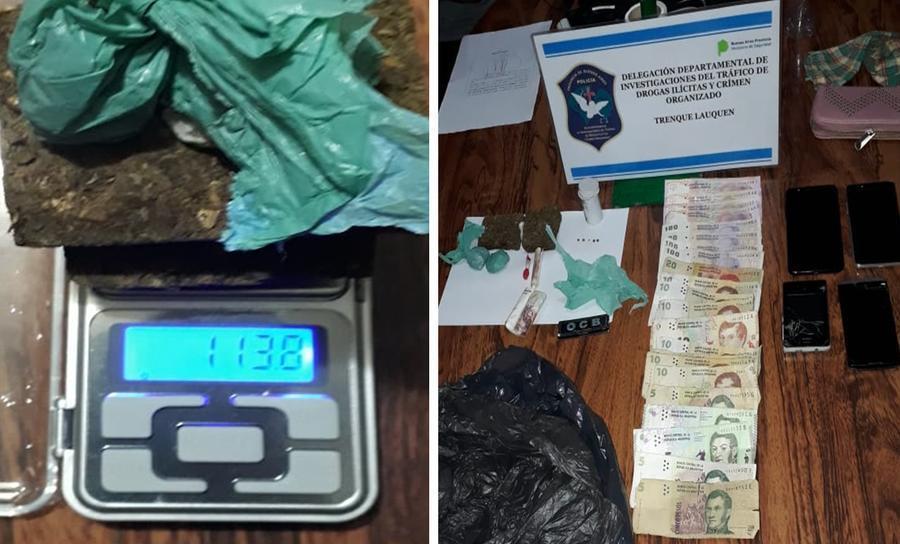 AMÉRICA: UN APREHENDIDO POR COMERCIALIZACIÓN DE DROGAS
