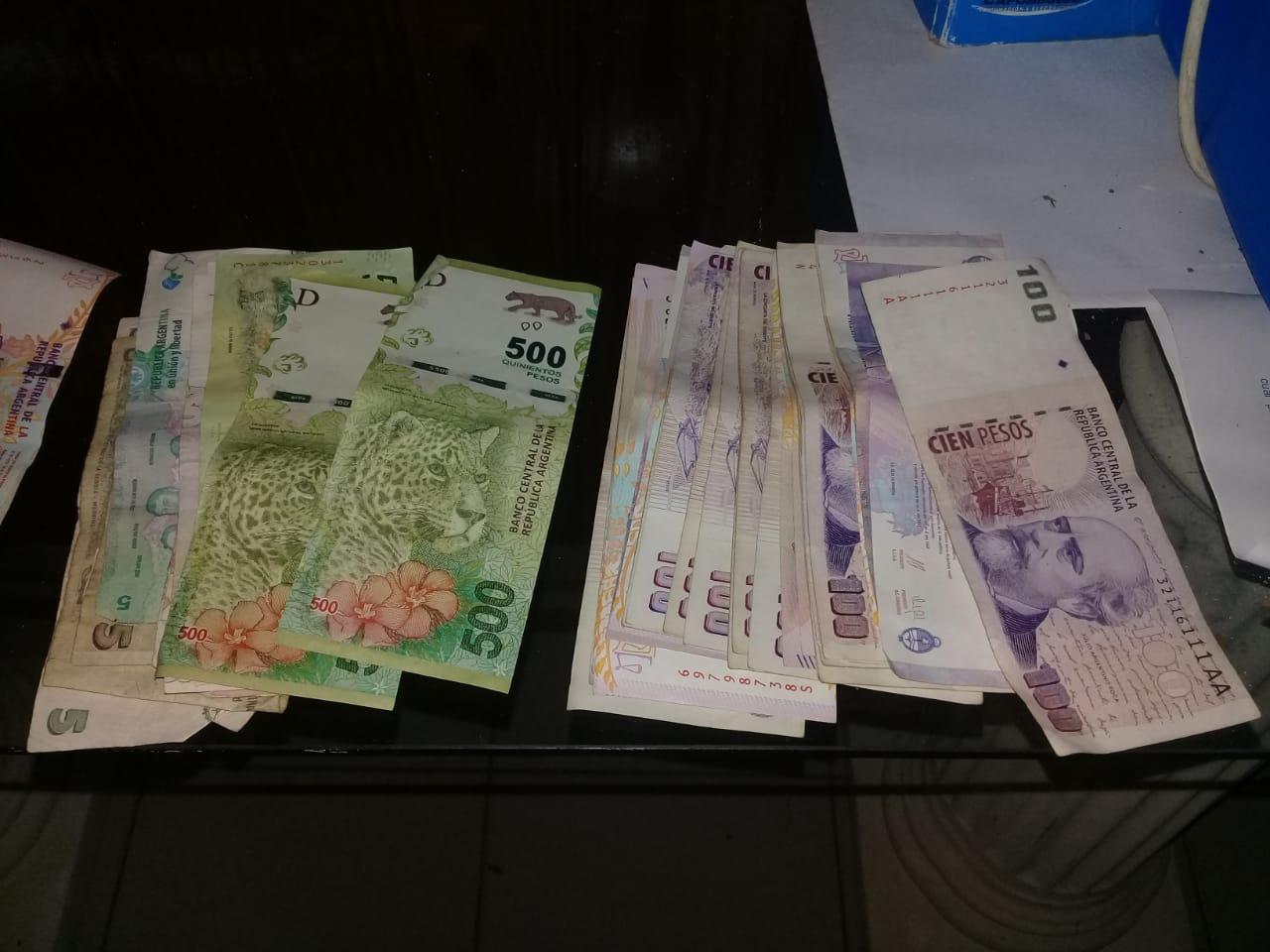 DOS MUJERES APREHENDIDAS POR LA SUSTRACCIÓN DE UNA BILLETERA CON $12 MIL
