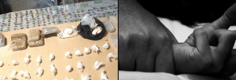 LOS DELITOS RELACIONADOS CON DROGAS Y LOS ATAQUES SEXUALES SON LOS QUE MÁS HAN AUMENTADO EN RIVADAVIA