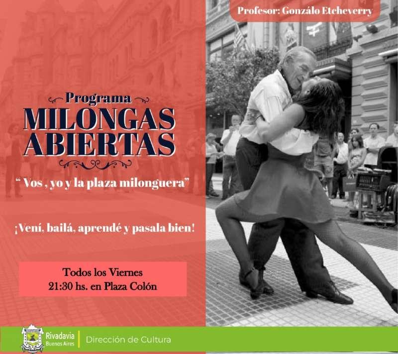 """VIERNES DE """"MILONGAS ABIERTAS"""""""