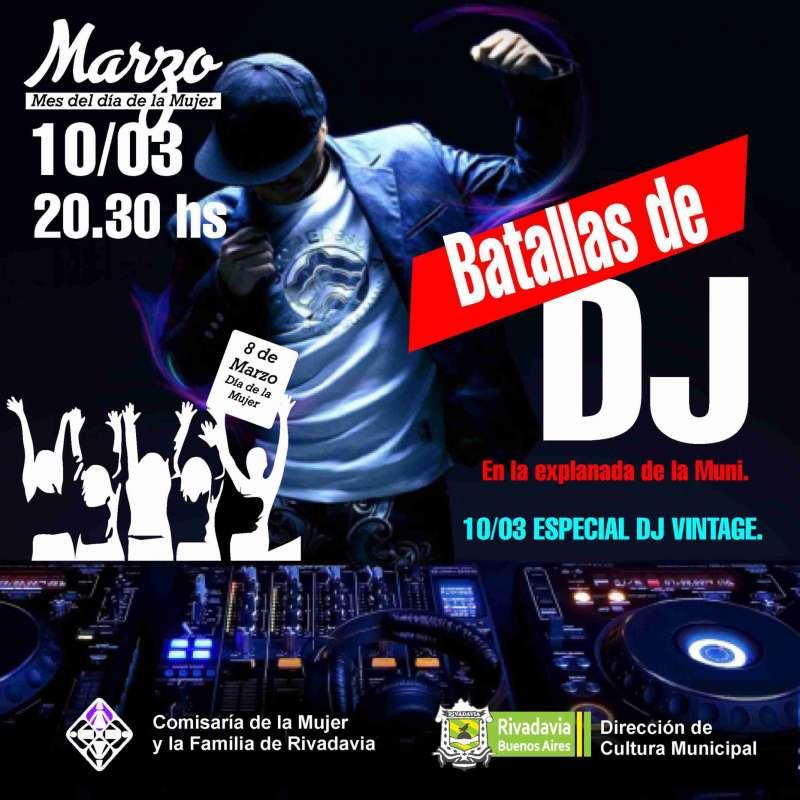 BATALLA DE DJ VINTAGE