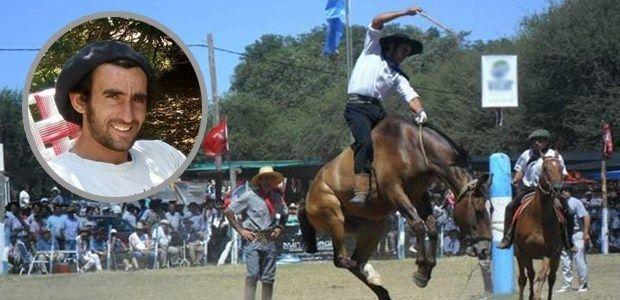 EL JINETE ANDRES FERNANDEZ DE EMILIO V. BUNGE SE ENCUENTRA EN GRAVE ESTADO (VIDEO)