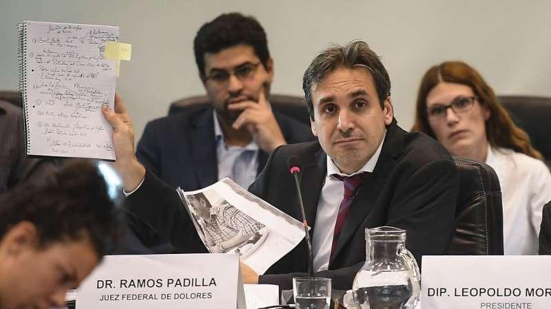 RAMOS PADILLA: «POR LA DENUNCIA CONTRA STORNELLI, DESCUBRIMOS UNA RED DE ESPIONAJE JUDICIAL DE MAGNITUDES»