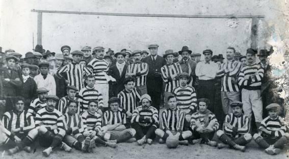 106 AÑOS DEL CLUB ATLÉTICO RIVADAVIA: HISTORIA DE SU NACIMIENTO