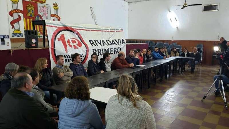 RIVADAVIA PRIMERO DEFINIÓ LISTA PARA LAS PASO