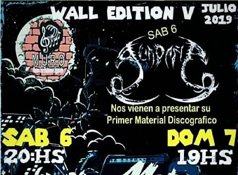 ESTE FIN DE SEMANA SONARÁ EL «WALL EDITION V»