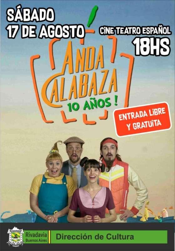 «ANDA CALABAZA» PARA TODOS LOS NIÑOS