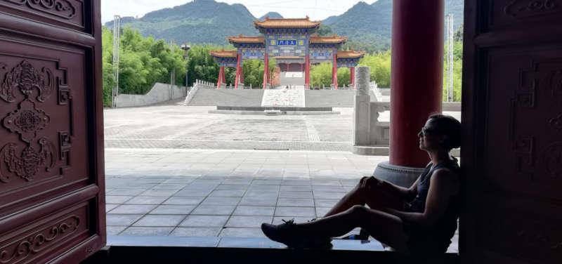 MILAGROS NOS ABRIÓ LA VENTANA DE LA CULTURA CHINA