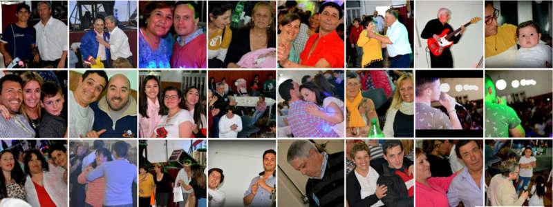 UNA MULTITUD FESTEJÓ Y COLABORÓ EN LOS 21 AÑOS DE PUNTO Y APARTE