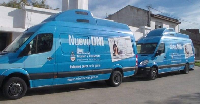 LA UNIDAD MÓVIL PARA TRAMITAR EL DNI Y PASAPORTE ESTARÁ EN RIVADAVIA