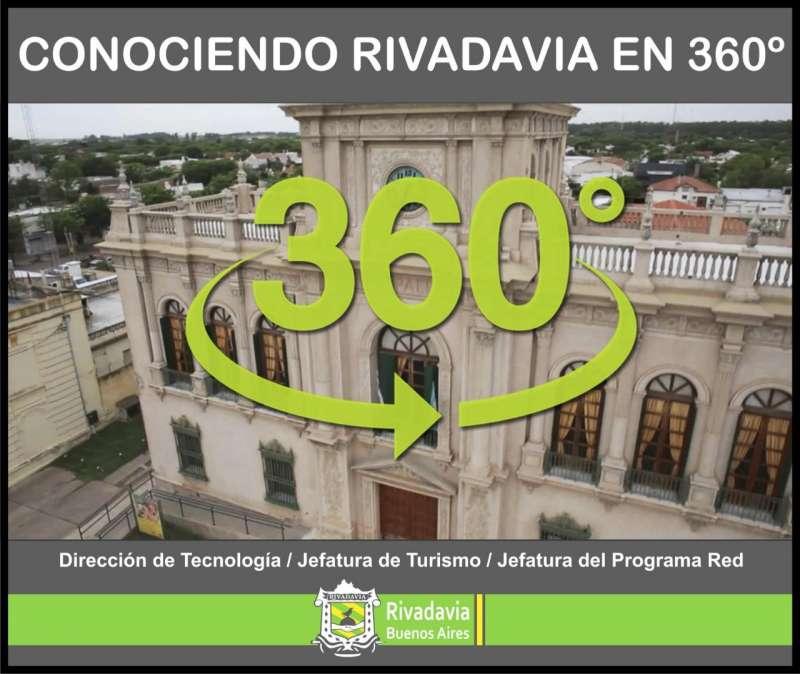 VOS PODÉS ELEGIR EL VIDEO GANADOR DEL CONCURSO «CONOCIENDO RIVADAVIA EN 360°»