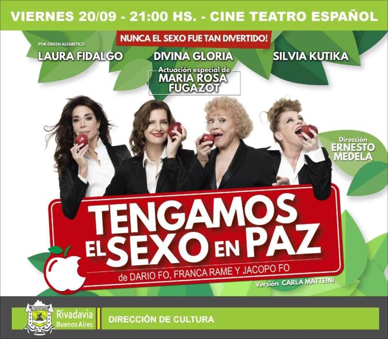 """TENGAMOS EL SEXO EN PAZ"" LLEGA A AMÉRICA"