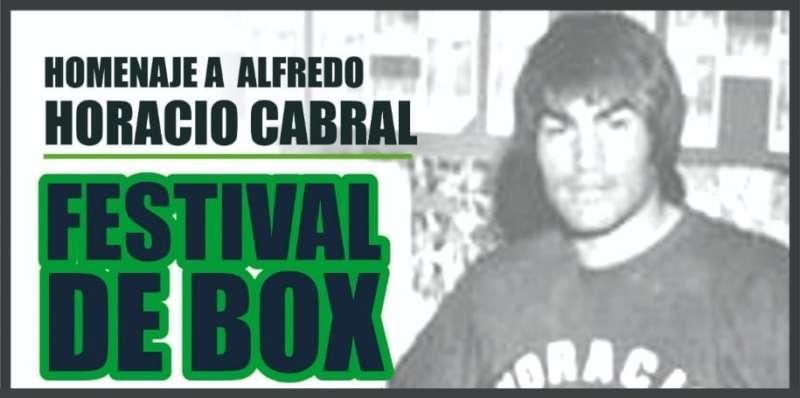 NOCHE A PURO BOX EN HOMENAJE A ALFREDO HORACIO CABRAL