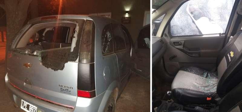 «NO SALGAS QUE ESTÁN ROMPIENDO EL AUTO»