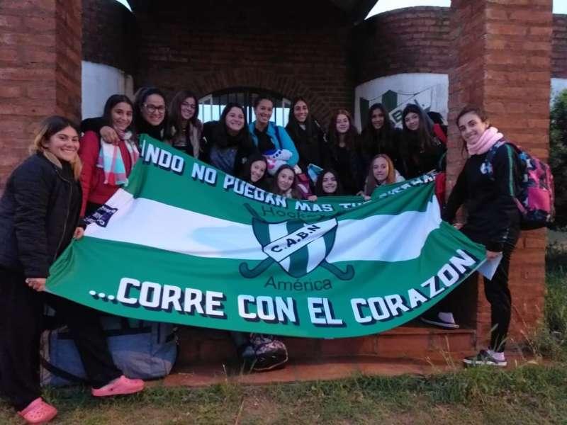 HOCKEY: EL SUB 16 DE BARRIO NORTE COMPITIÓ EN TANDIL