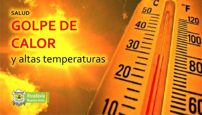 GOLPE DE CALOR Y ALTAS TEMPERATURAS