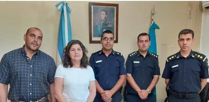 JULIO SILVA ES EL NUEVO JEFE DE POLICÍA COMUNAL DE CARLOS TEJEDOR
