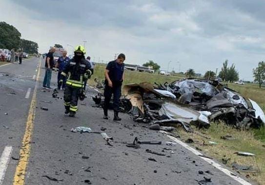 T. LAUQUEN: TREMENDO ACCIDENTE EN LA RUTA 33, A METROS DEL ACCESO PERÓN, OTRO MUERTO