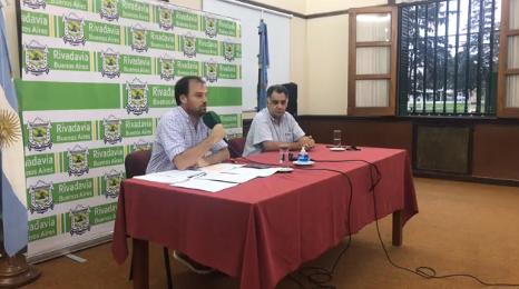 REYNOSO ANUNCIÓ LA RESTRICCIÓN DEL ACCESO AL DISTRITO Y EL CIERRE DE LAS DEPENDENCIAS MUNICIPALES