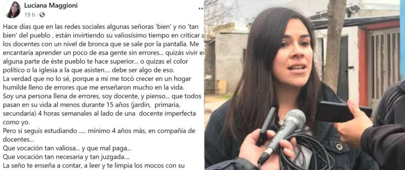 """""""EN ESTA SOCIEDAD DE PLÁSTICO, EQUIVOCARSE ES UN PECADO"""""""