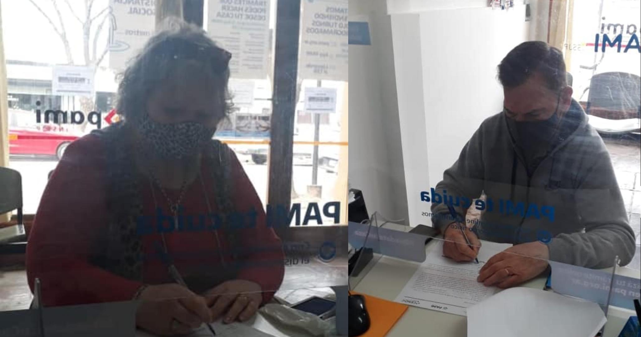 PAMI FIRMÓ CONVENIOS CON CENTROS DE JUBILADOS DEL DISTRITO PARA QUE ACCEDAN A TARIFA DIFERENCIAL DE LUZ Y GAS