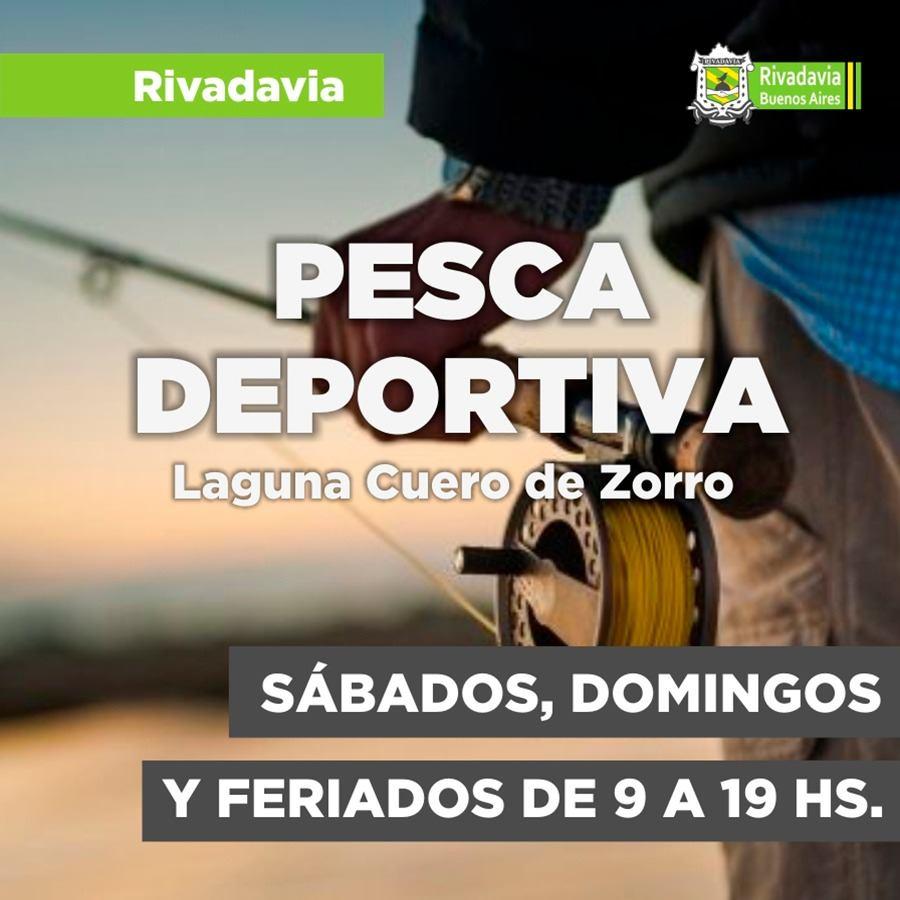 VUELVE LA PESCA DEPORTIVA A RIVADAVIA