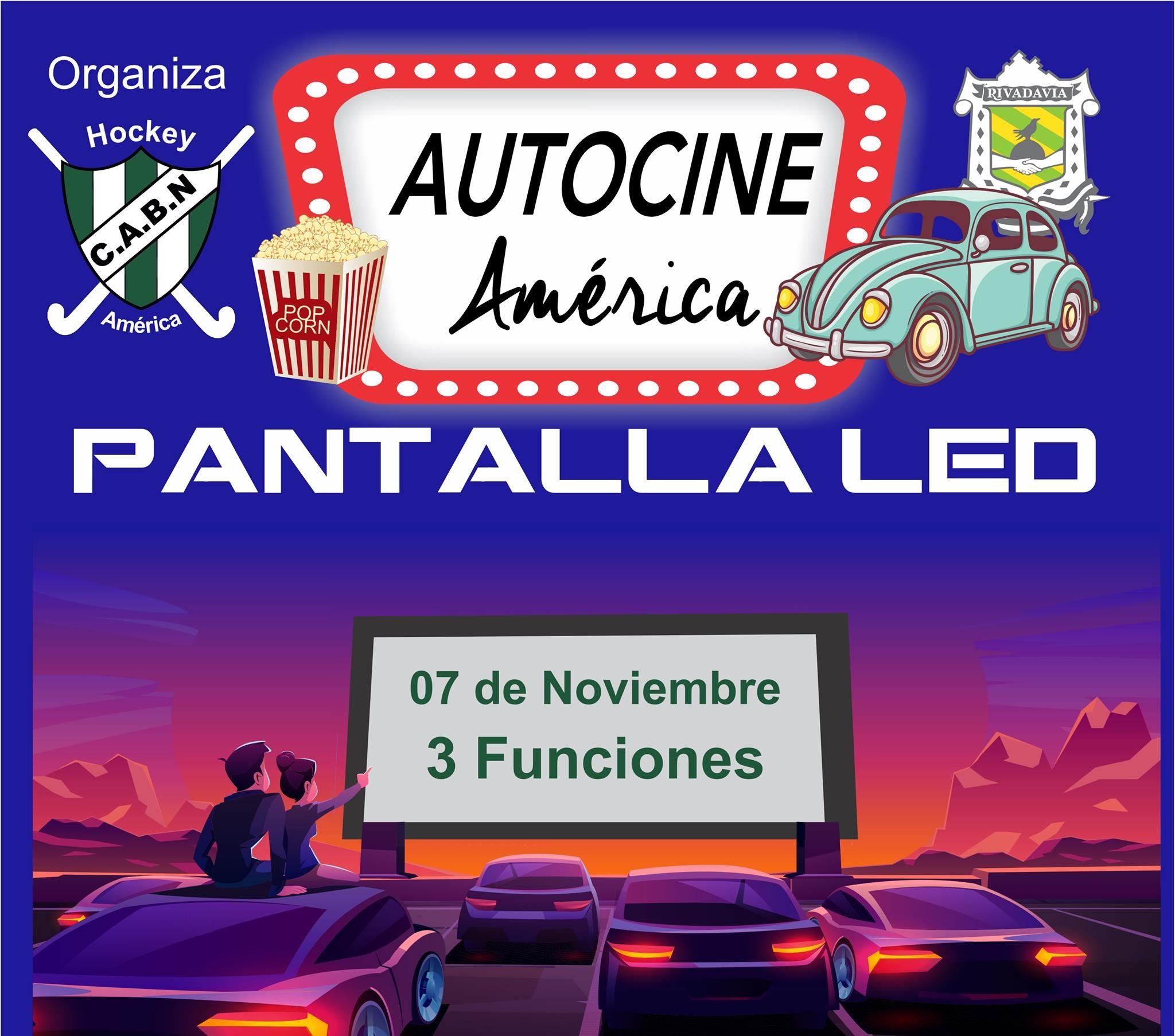 DESDE EL 7 DE NOVIEMBRE AMÉRICA TENDRÁ UN AUTOCINE