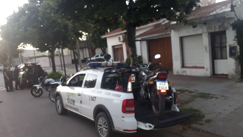 LA POLICÍA SECUESTRÓ VARIAS MOTOS Y MOTOS DURANTE EL FIN DE SEMANA