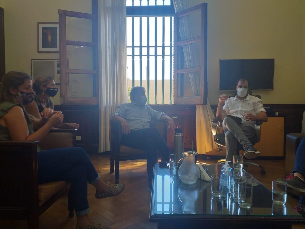 PATRICIO GARCÍA VISITÓ RIVADAVIA Y CONFIRMÓ LA ASISTENCIA DE NACIÓN PARA LA REPARACIÓN DE LA RUTA 33