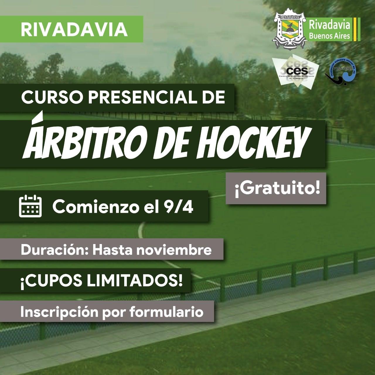 CURSO DE ÁRBITRO DE HOCKEY