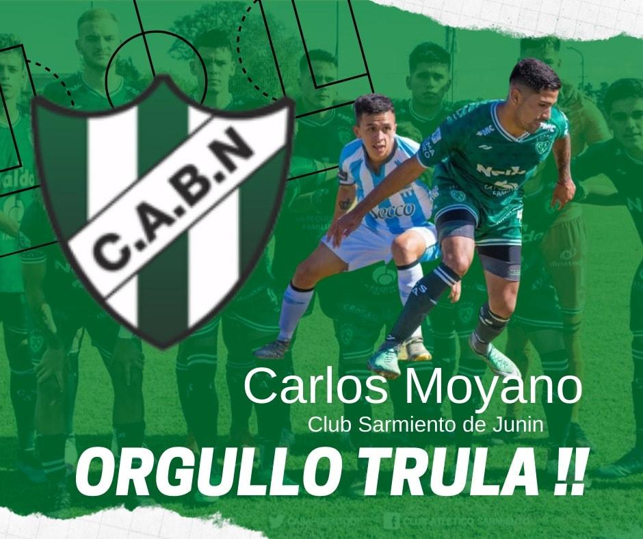 CARLOS MOYANO, ORGULLO «TRULA»