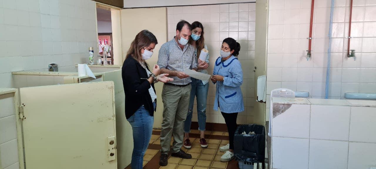 RECORRIDA POR OBRAS EN INSTITUCIONES EDUCATIVAS