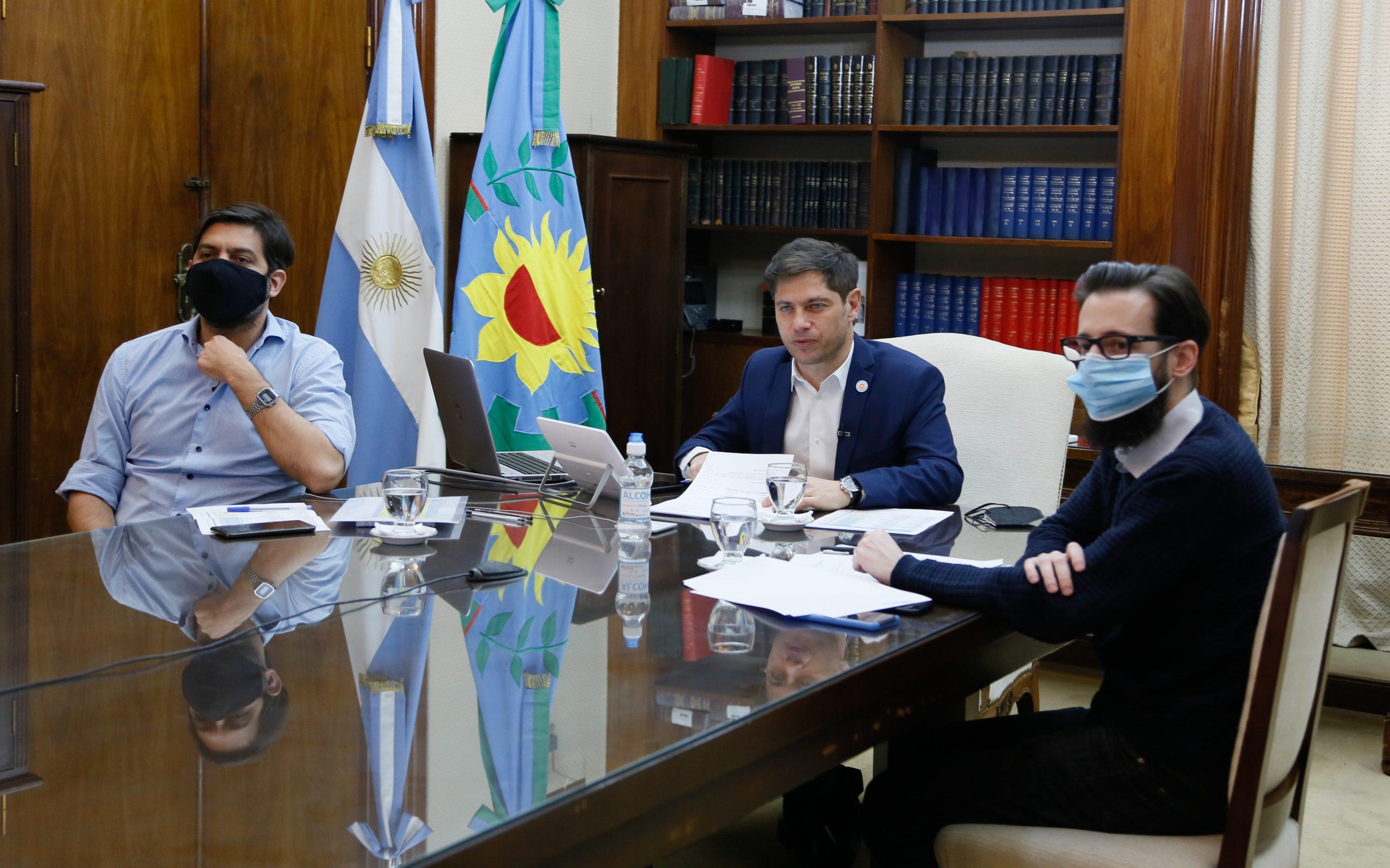 LLEGA A RIVADAVIA EL PRIMER PAGO DEL GOBIERNO PROVINCIAL PARA PAVIMENTO ASFÁLTICO