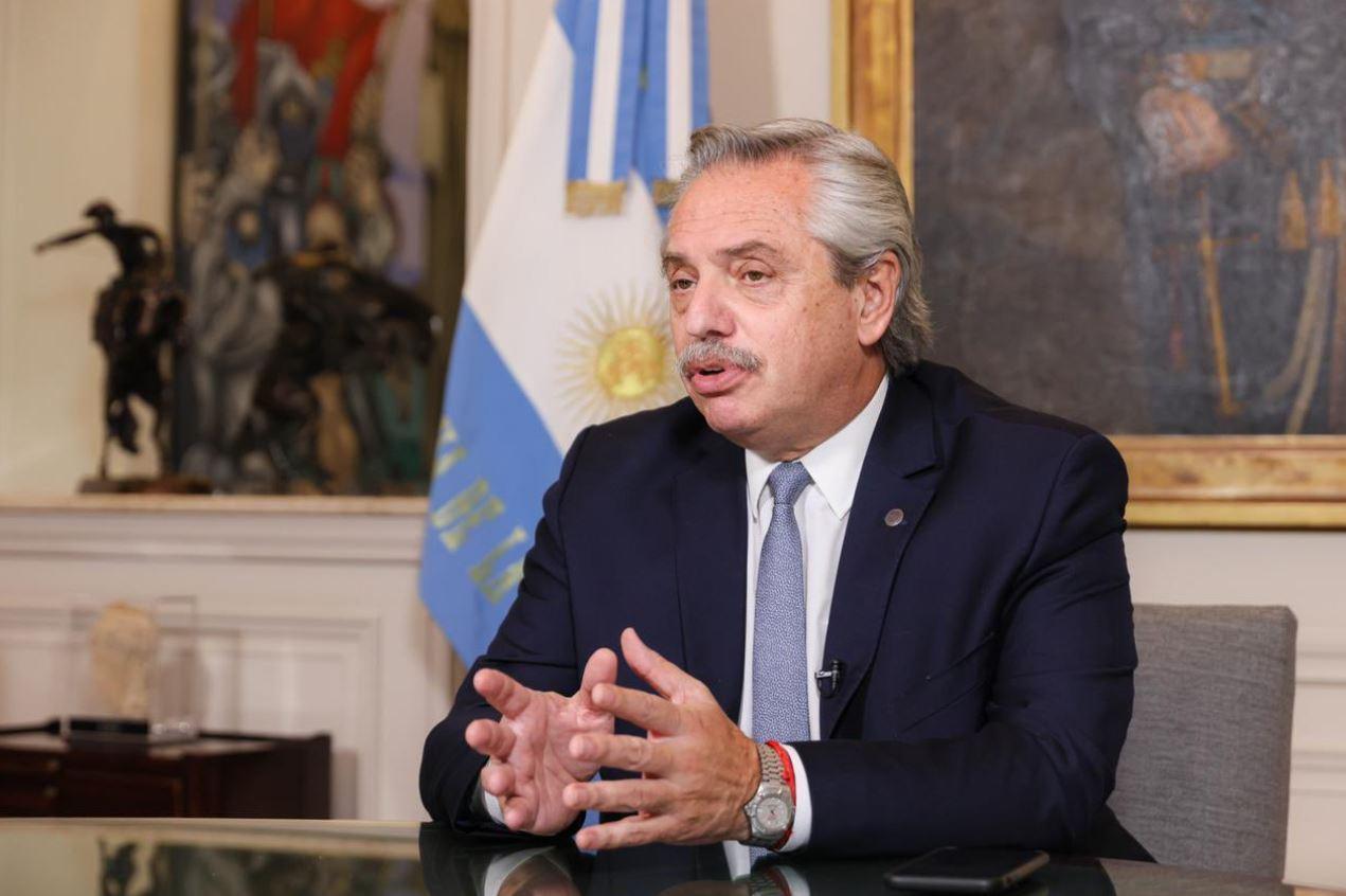 ALBERTO FERNÁNDEZ ANUNCIÓ LA INYECCIÓN DE 75 MILLONES DE DÓLARES PARA EL PLAN DE VACUNACIÓN CONTRA EL CORONAVIRUS