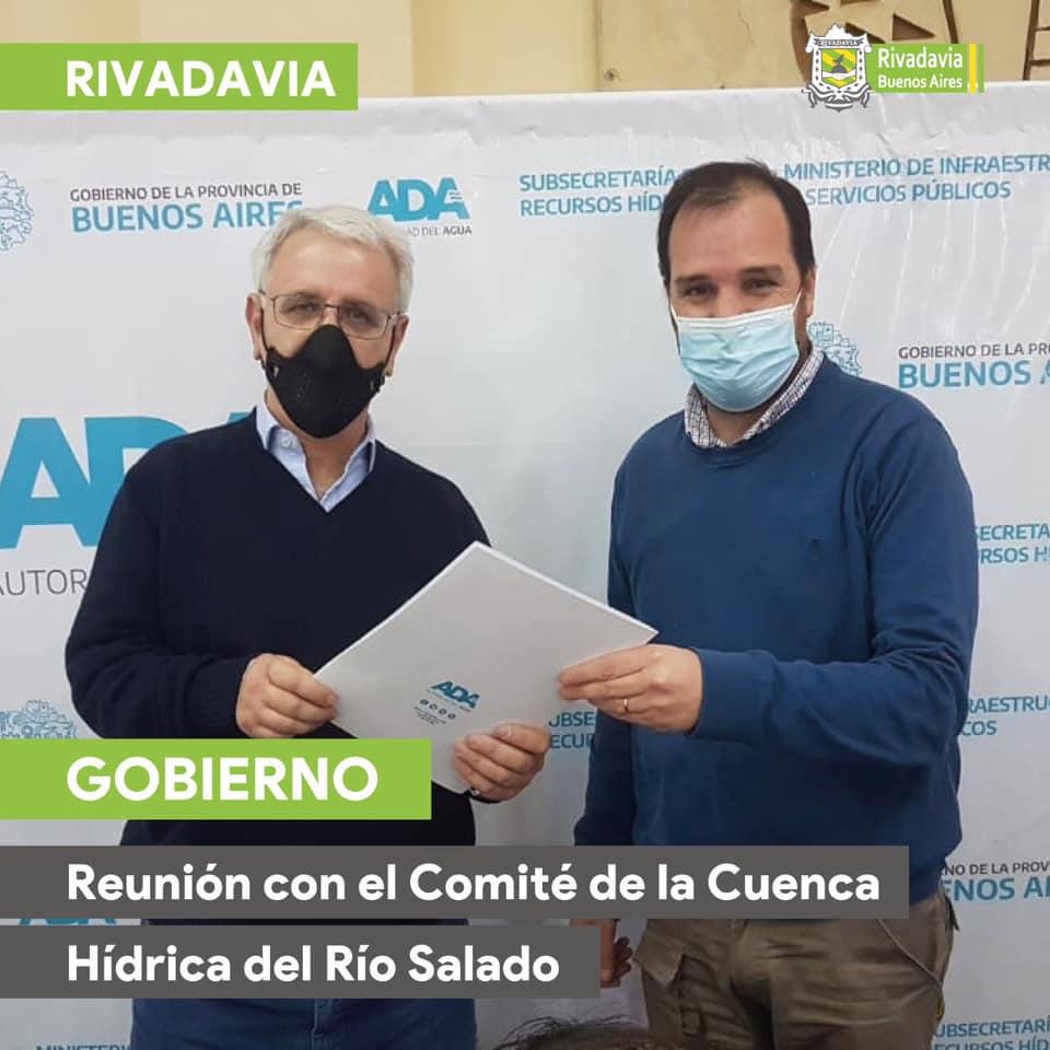 REUNIÓN CON EL COMITÉ DE LA CUENCA HÍDRICA DEL RÍO SALADO
