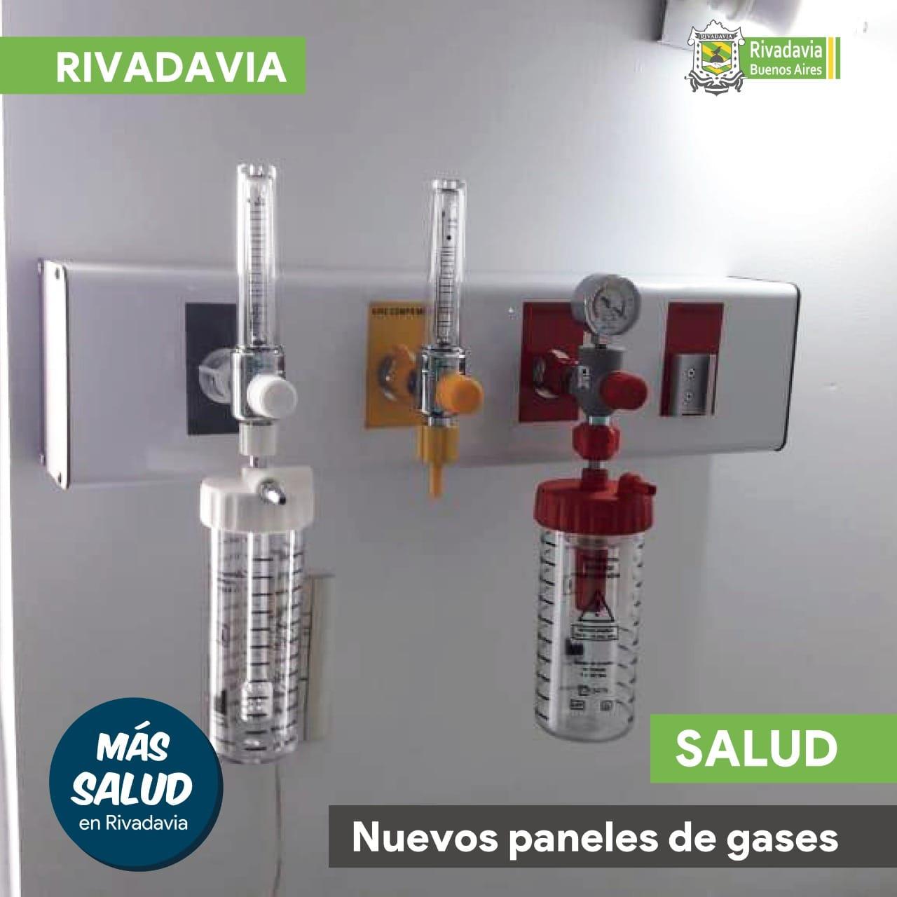NUEVOS PANELES DE GASES EN EL HOSPITAL MUNICIPAL