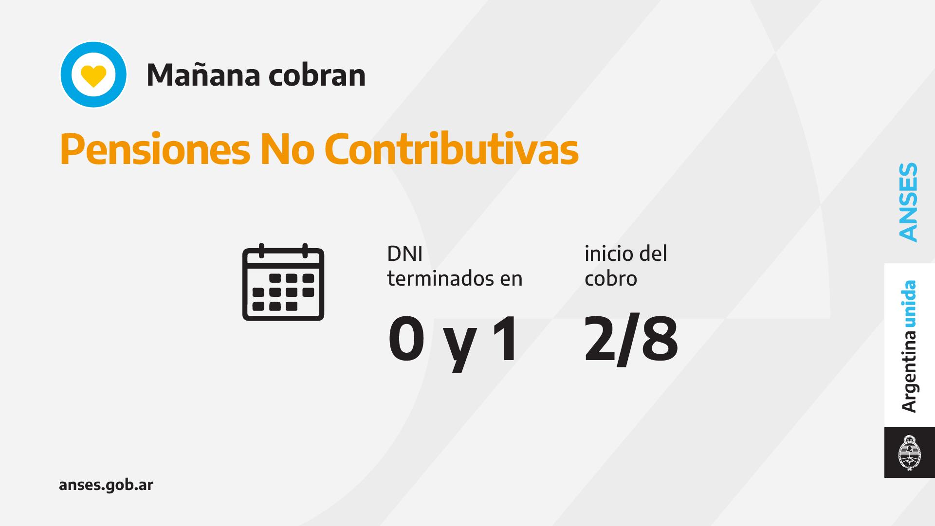 ANSES: CALENDARIO DE PAGO DEL LUNES 2 DE AGOSTO
