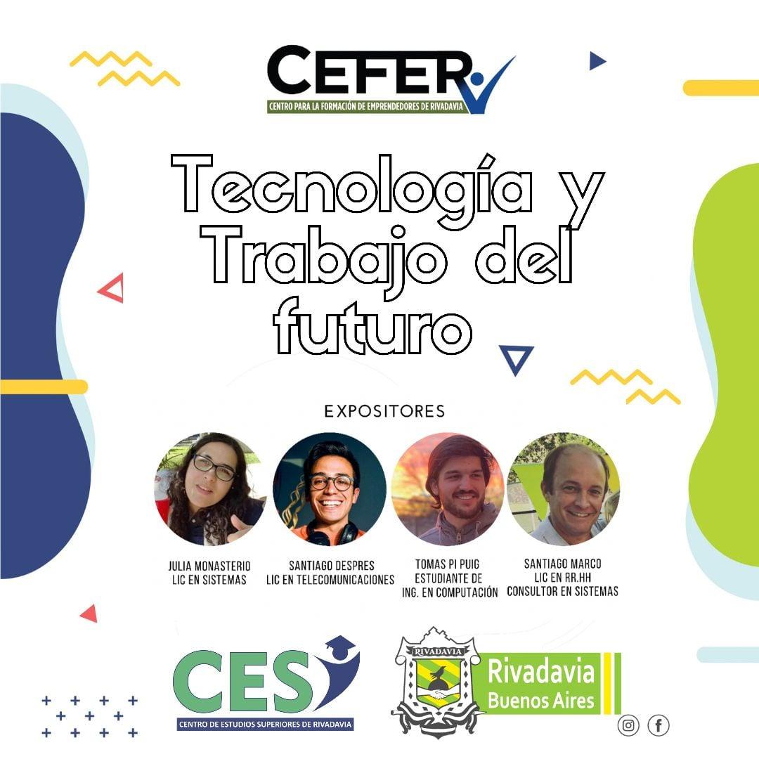 CHARLA «LA TECNOLOGÍA Y EL TRABAJO DEL FUTURO»