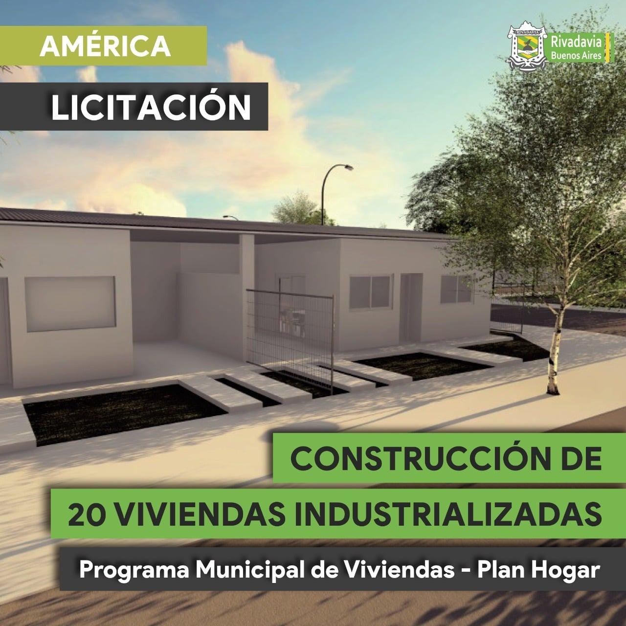 LICITACIÓN PARA CONSTRUCCIÓN DE 20 VIVIENDAS DEL PLAN HOGAR